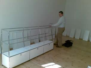 usm haller montage usm m belmonteur berlin stark umz ge. Black Bedroom Furniture Sets. Home Design Ideas